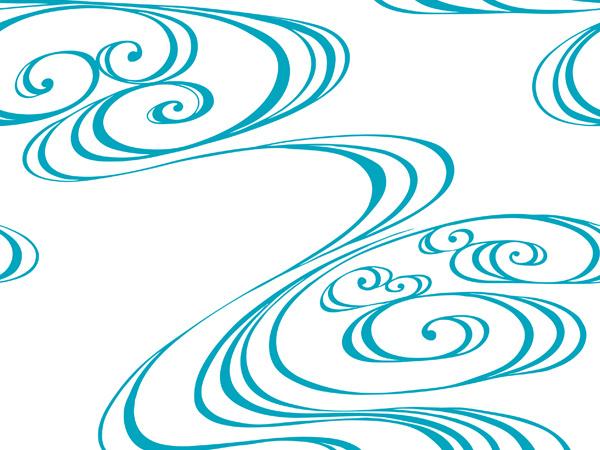 古典柄-流水