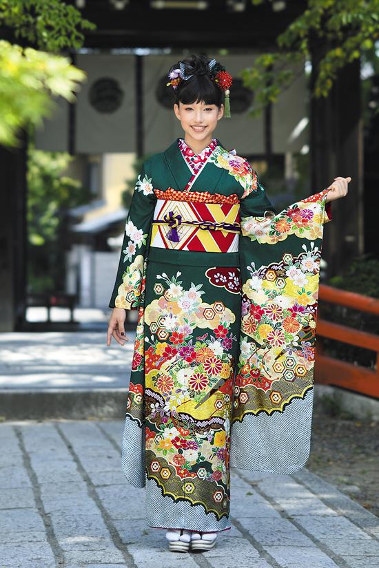 振袖舞姫 MS 282-2-緑